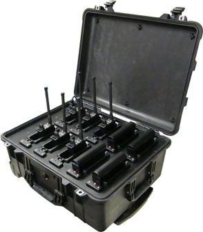 mobile RF tracking  solution military spec