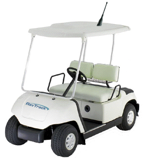 golf cart tracking solution