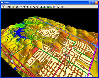 GlobalMapper GIS software